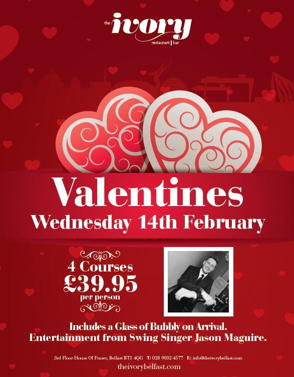 Valentines Day at the Ivory - Victoria Square